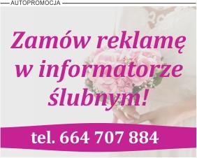 Reklama Informatora Ślubnego